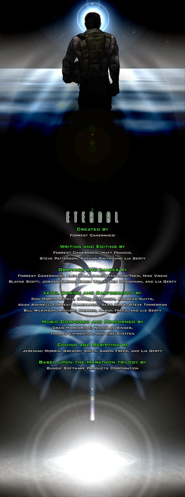 <i>Eternal</i> end credit scroll