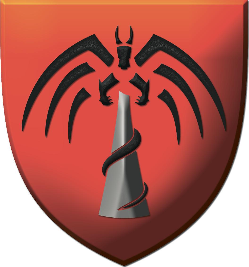 <i>Ashen Spire</i> heraldry