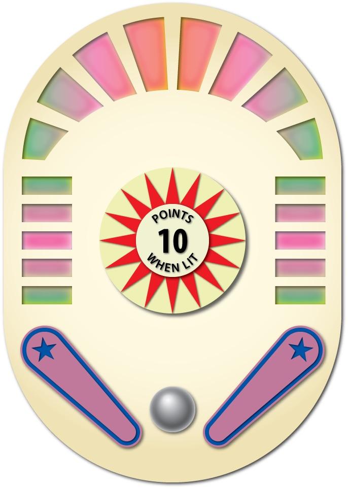 <i>Vintage Pinball & Games</i> logo