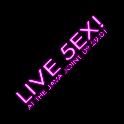 <i>Live 5EX</i> album cover