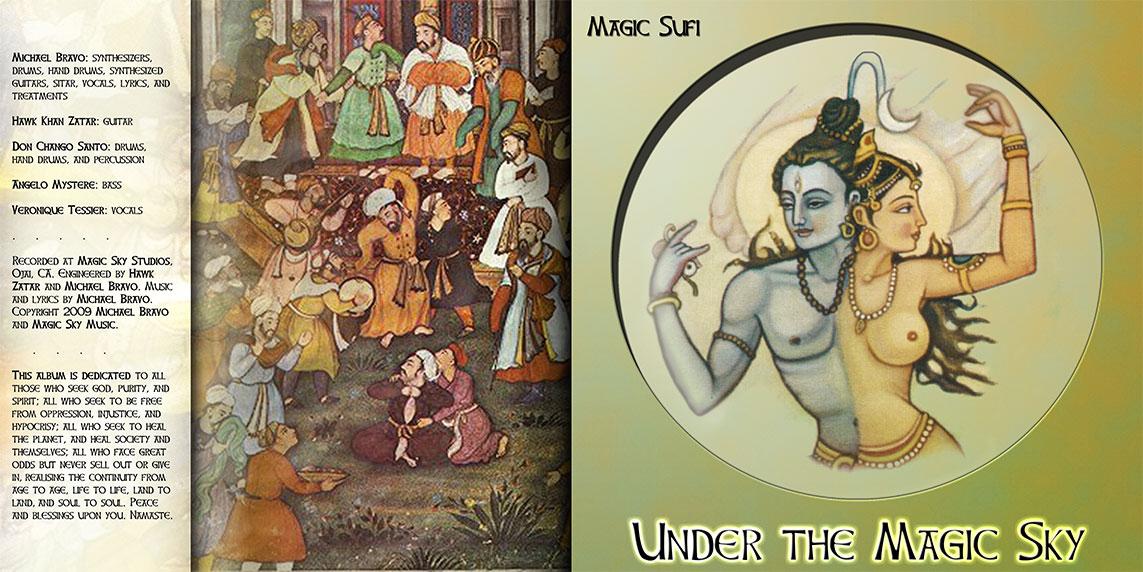 <i>Under The Magic Sky</i> album cover