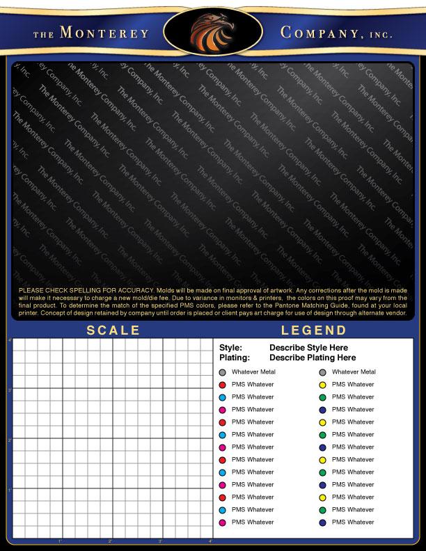 <i>Monterey Company</i> proof sheet