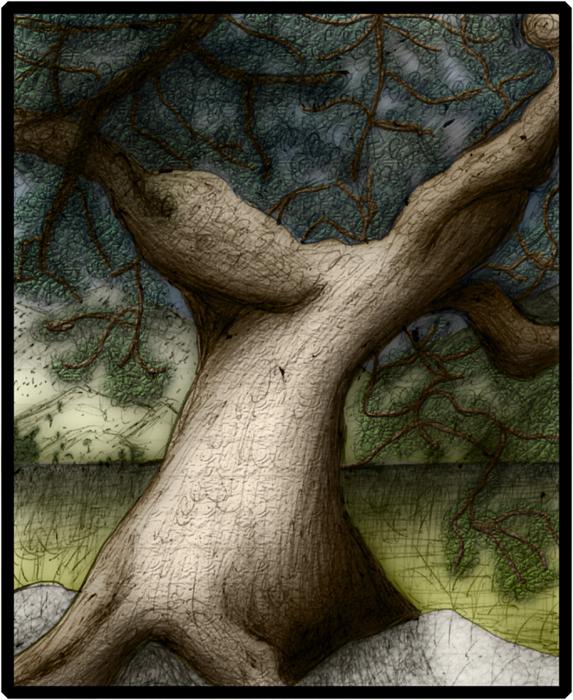 Pen Tree