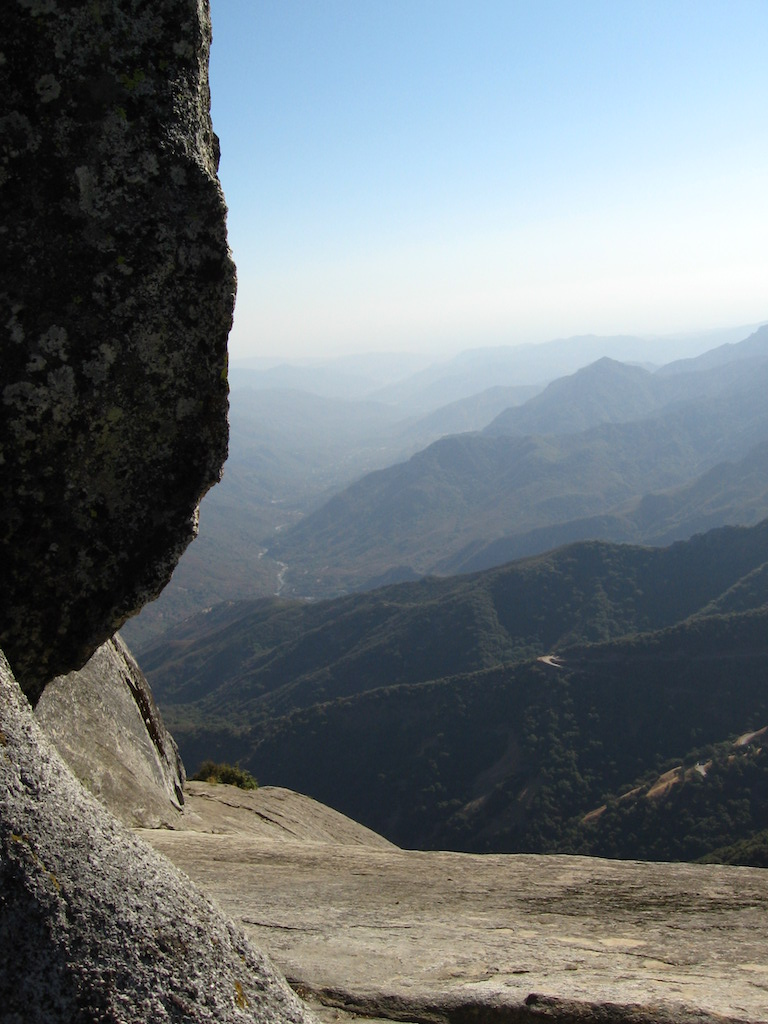 Westward view from Moro Rock
