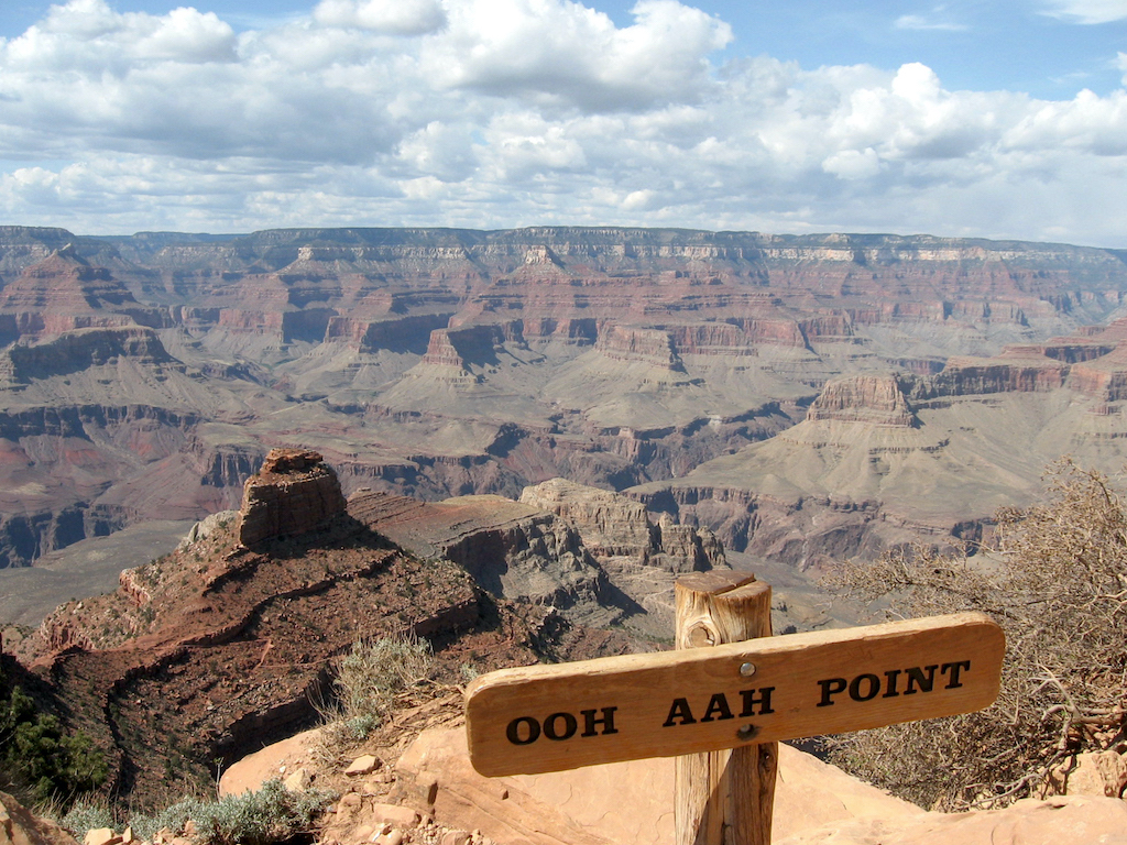 The Grand Canyon from Ooh Aah Point