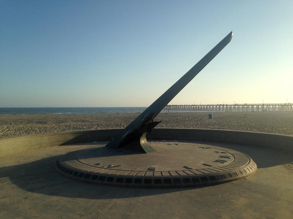 Sundial at Hueneme Beach