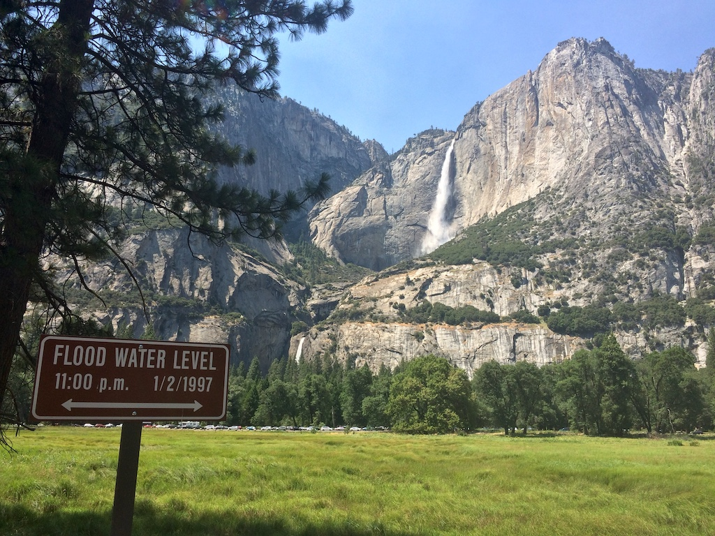 Yosemite Falls from Cook