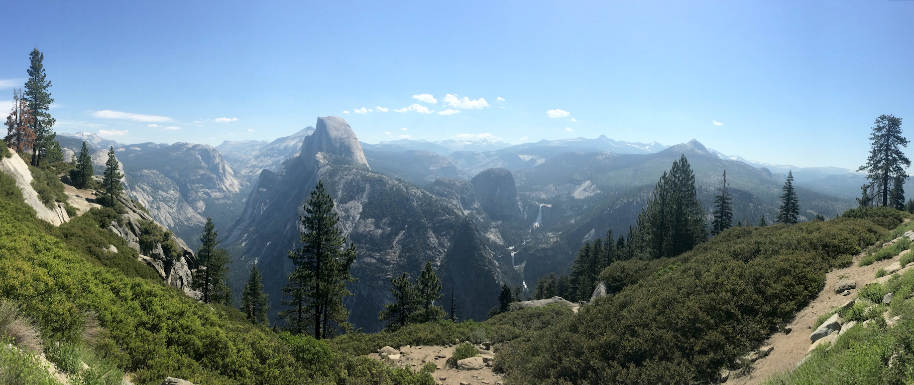 Eastern Yosemite Valley from Glacier Point