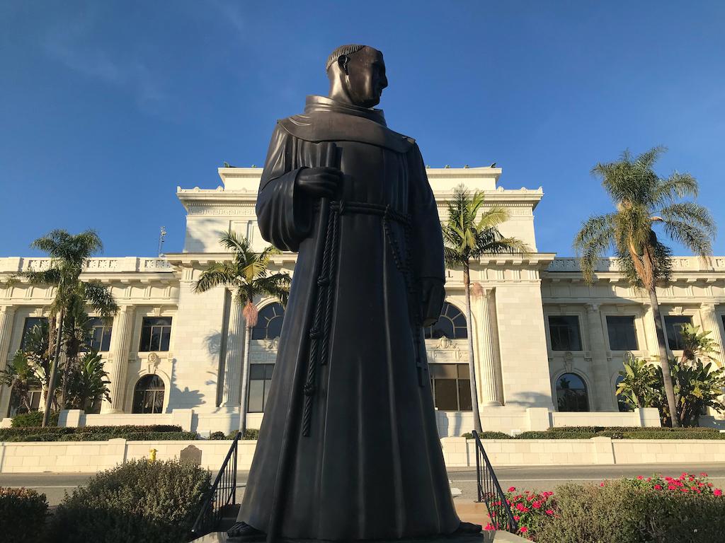 Padre Serra at Ventura City Hall