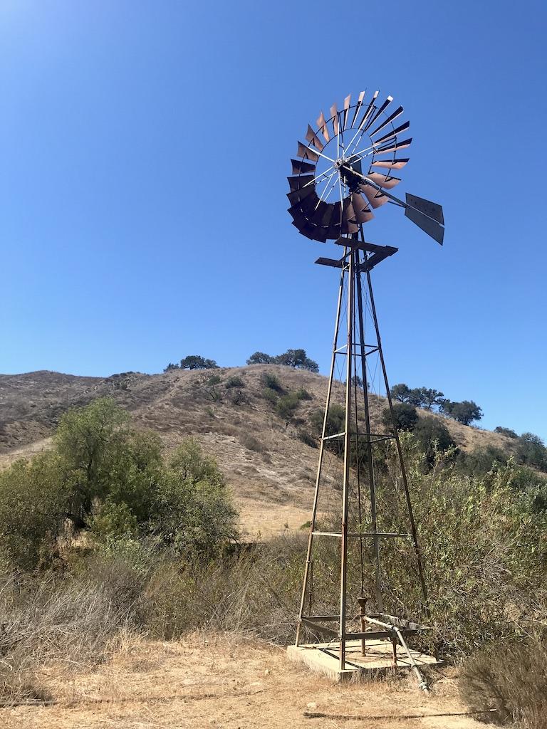 Windmill in Cañada Larga