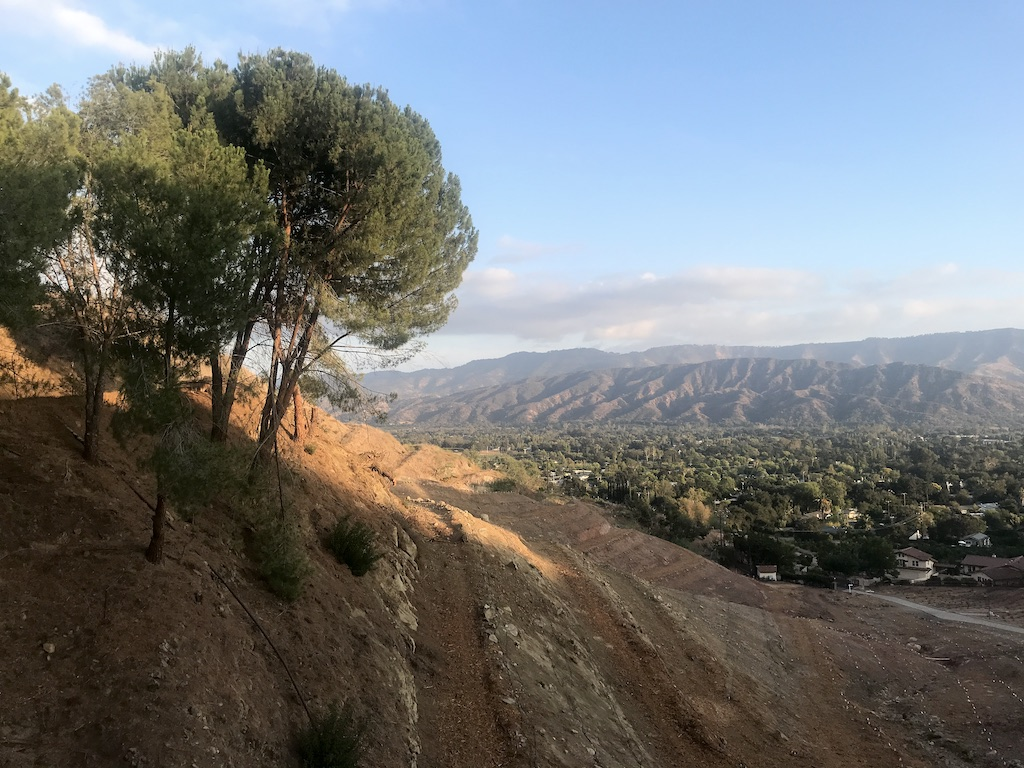 Ojai Valley from Shelf Road
